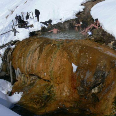 Voyage en ski de randonnée sur les volcans actifs du Kamtchatka