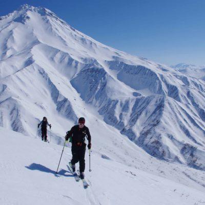 Ski de randonnée sur les volcans actifs du Kamtchatka