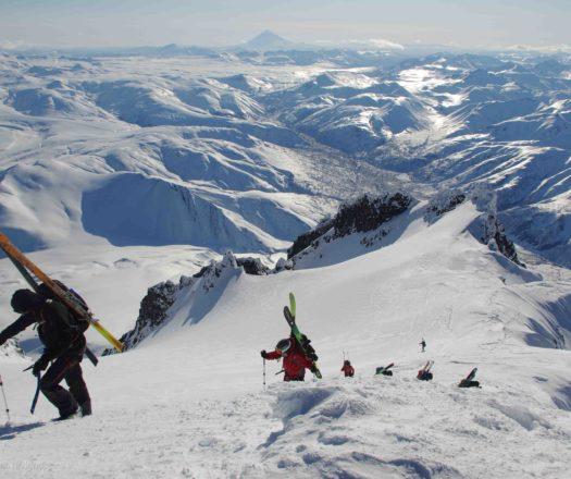 Voyage en ski de randonnée au Kamtchatka